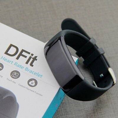 Hot DFit D21 Wristband Heart Rate Smart Watch Smartband Bracelet for Android IOS