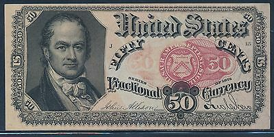Fr1381 50¢ 5Th Issue Fractional Currency  Vf Choice Cu Bt5140