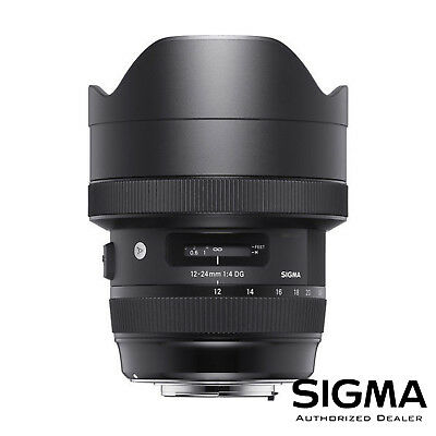 Sigma 12-24mm f/4 DG HSM Art Lens for Canon EF ***USA AUTHORIZED***