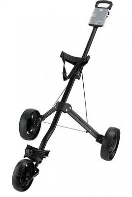Ben Sayers Manual 3 Wheel Push/pull Golf Trolley (Black)