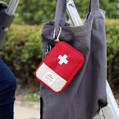 Emergency First Aid Kit Bag Pouch Outdoor Camping Hiking Survival Travel Tools