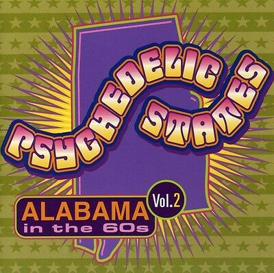 Various Artists, Psy - Psychedelic States: Alabama in the 60s 2 / Various [New C