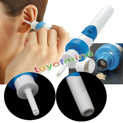 Ear Wax Cleaner Removal  Earwax Remover Soft Safe Ear-pick Clean Tools