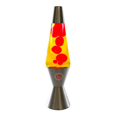NEW Lava Lamp Yellow/Red [RM-KM802E]
