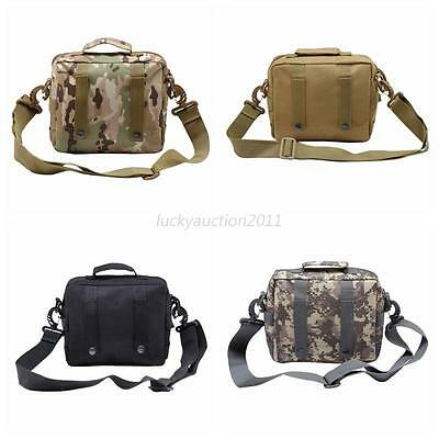 Tactical Military Waist Pack Shoulder Outdoor Bag Molle Camping Hiking Pouch Bag
