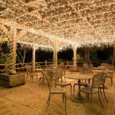 Romantic Wedding 100M 500 LED String Fairy Lights Indoor Outdoor Party Xmas