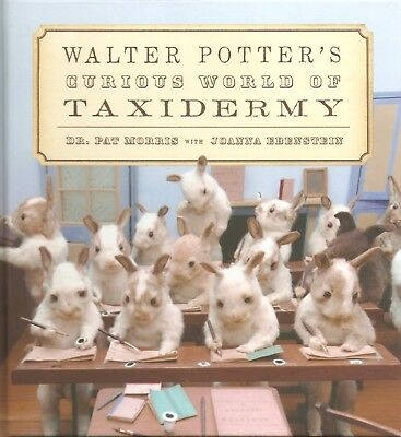MORRIS PAT BOOK WALTER POTTERS CURIOUS WORLD OF TAXIDERMY hardback BARGAIN new