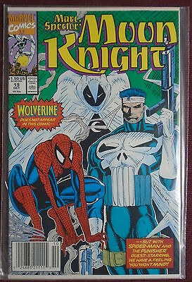 Marc Spector Moon Knight (1989) #19, NM 9.0, NEWSSTAND EDITION