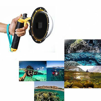 Dome Port Underwater Diving Camera Lens Cover Case w/Trigger For GoPro Hero 5 6