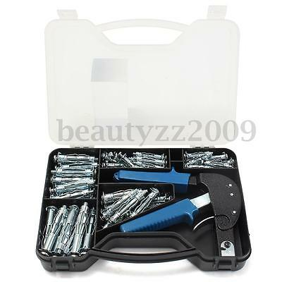 Hollow Wall Anchor Heavy Duty Setting Tool Kit & M4 M5 M6 Mix Expansion Screw