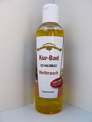 Kur-Bad Incense extra strong, Bubble bath 250 ml