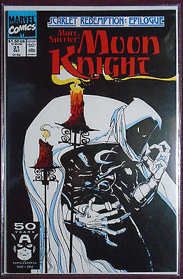 Marc Spector Moon Knight (1991) #31, NM 9.0