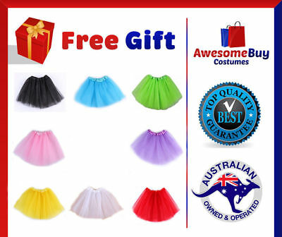 Dance Ballet Skirt Tutu Fancy Dress Party Costume Dancewear Princess Girls Kids