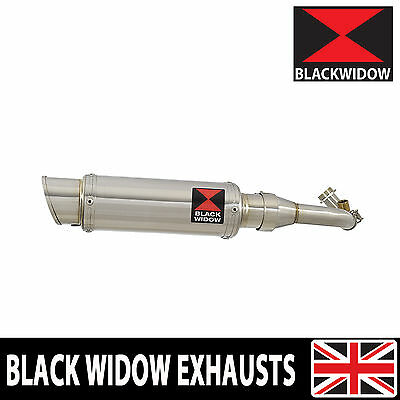 Piaggio Vespa GTS 125 4T 2007-2016 Stainless Steel Oval 230SR Silencer