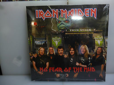 Iron Maiden-No Fear Of The Mud. Wacken, Germany 2016.-Red Vinyl Lp-New.sealed