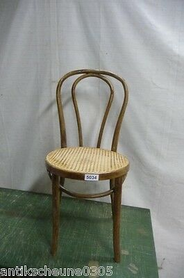 5034. Alter Bugholz Stuhl Old wooden chair