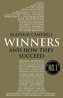Winners: And How They Succeed by Campbell, Alastair Book The Cheap Fast Free