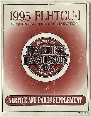 1995 FLHTCU-1 Harley Davidson ELECTRA GLIDE 30th Service And Parts Supplement