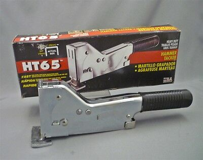 Brand New ARROW HT65 Heavy Duty Hammer Tacker Stapler Made in USA Roofing Lath
