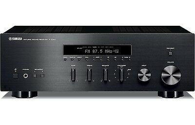 Yamaha R-S300BL Classic-Style Stereo Receiver Brand New (RS300BL) (RS-300BL) !!
