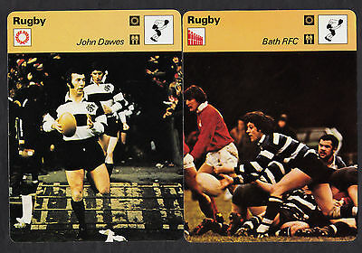 96 Diff. 1977-1979 RUGBY Sportscaster Cards British Edition Near Set Lot