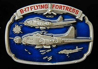 B-17 Flying Fortress Bomber Belt Buckle Buckles New