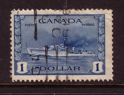 CANADA....  1942  $1 destroyer used