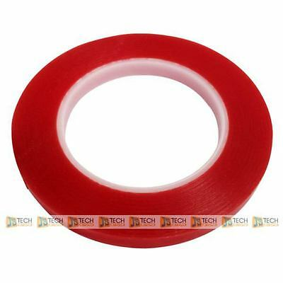 3M Adhesive Tape 2mm 55m Grade A Clear Red Film Sticker Double Side 0.2cm