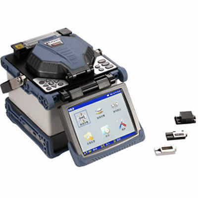 RY-F600H Fusion Splicer with Fiber Holders 5.1 Inch TFT Color Monitor USB & VGA