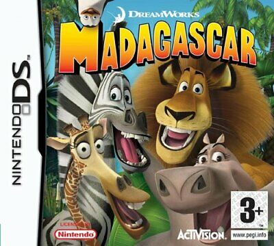 Madagascar (Nintendo DS) - Game  KSVG The Cheap Fast Free Post