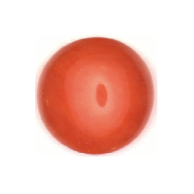 Natural Fine Ox Blood Salmon Coral - Round Cabochon - Australia - Top Grade
