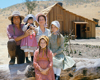 Rare Little House on the Prairie tv series Michael Landon photo 8x10 picture 110