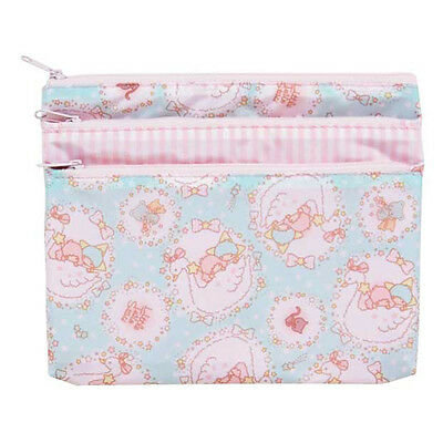 Sanrio Little Twin Star 3 Zipper Pouch