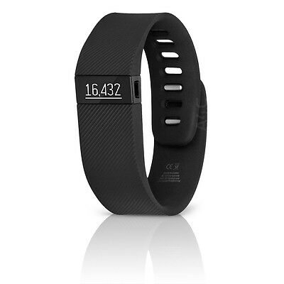 Fitbit Charge Wireless Sleep Tracker + Activity Wristband (Small) - Black