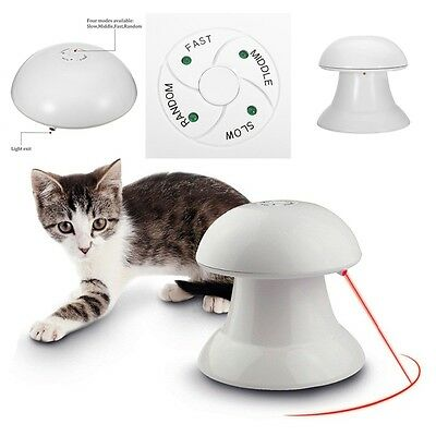New Hot Pet Cat Dog Automatic Interactive Dart Laser Light Exercise Teaser Toys