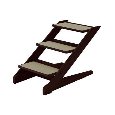 RICHELL CAT or DOG PET STEP WOOD RAMP BED STAIRS FURNITURE