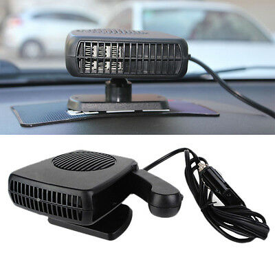 Portable Car Vehicle Ceramic Heating Cooling Heater Fan Defroster Demister GYTH