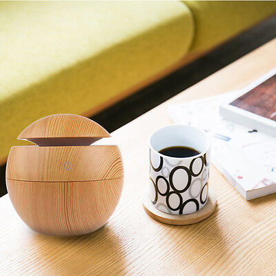 USB Ultrasonic Humidifier Purifier Aroma Fragrance Aromatherapy Oil Diffuser