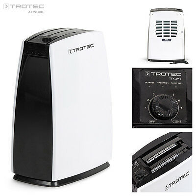 TROTEC TTK 29 E Portable Air Dehumidifier, Dehumidifying max. 10 L/Day