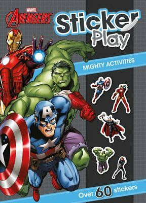 Marvel Avengers Sticker Play Mighty Activities Over 60 By Parragon Books Ltd