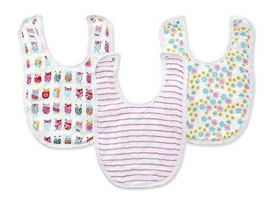 aden by aden + anais 3 Pack Little Bib (Walk In The Park)