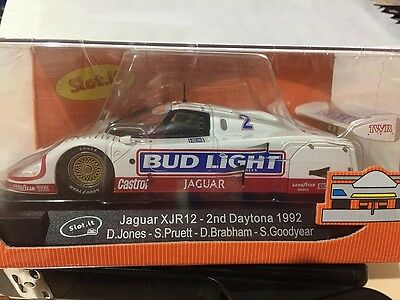 Slot It Ca13A Jaguar Xjr12 Bud Light Slot Car 1:32