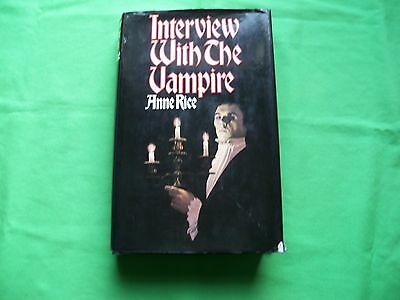 Anne Rice Interview With A Vampire Hb book MacDonald Raven Books