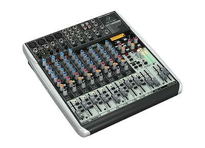 Behringer Mixer XENYX X1622 USB 16-Kanal 2/2-Bus Mischpult X 1622 4 Mic Preamps