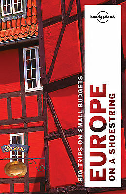 Lonely Planet Europe on a shoestring 9 (Travel Guide) - BRAND NEW 9781786571137