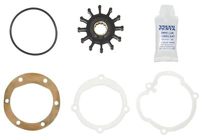 OEM Volvo Penta Water Pump Impeller Kit 21951346 (repl. 3862281 3858256 876243)