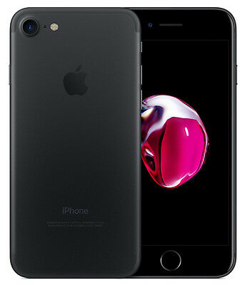Apple iPhone 7 32GB Nero ITALIA Opaco Retina NUOVO LTE Originale Smartphone