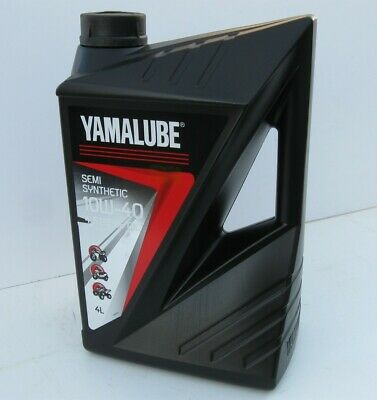 Yamalube Semi Synthetic Motorcycle Oil  4L can