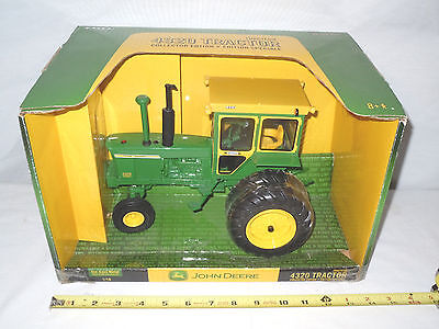 John Deere 4320 With Hiniker Cab & Duals  Collector Edition  By Ertl
