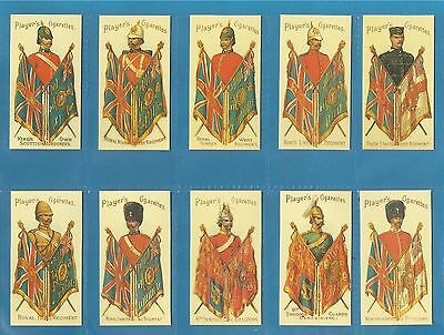Players cigarette cards - MILITARY SERIES - Full mint condition set.